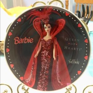 Bob Mackie Barbie Queen Of Hearts Numbered Plate